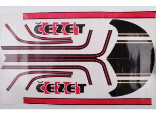 Наклейки (набор)   CZ   (Польша)
