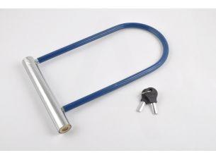 Замок противоугонный   (U-образная скоба, L-250mm, d-10mm)   (синий)   LOCK