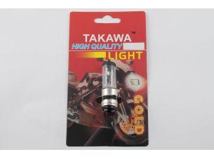 Лампа P15D-25-1 (1 ус)   12V 35W/35W   (белая)   (блистер)   (B-head)   TAKAWA   (mod:A)