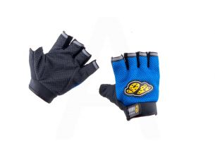 Перчатки без пальцев   GO   (size:L, синие)    46