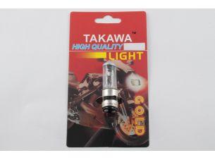 Лампа P15D-25-1 (1 ус)   12V 18W/18W   (белая)   (блистер)   (S-head)   TAKAWA   (mod:A)