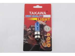 Лампа P15D-25-1 (1 ус)   12V 18W/18W   (супер белая)   (блистер)   TAKAWA   (mod:A)