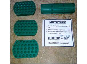 Комплект резинок (тюнинг) (подножки, педали тормоза, ножек)   МТ, ДНЕПР   SKY