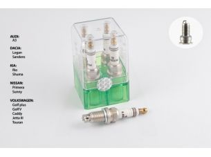 Свеча авто   BKR6   M14*1,25 19,0mm   (под ключ 16) (экстрим, уп. кристалл)   INT - LIBEN