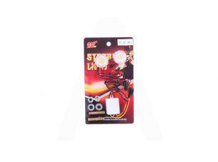 Дневные ходовые огни   (2 шт, 2 диода)   (красные, mod:JC-401)   JCAA