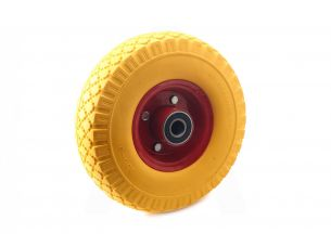 Колесо   3,00 -4   TL   (бескамерное, под ось d-20мм )   (желтое)   MRHD