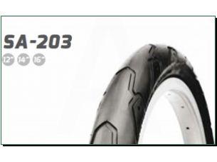 Велосипедная шина   12 * 1/2 * 2 1/4   (47-203)   (S-203 слик)   Delitire-Индонезия   (#LTK)