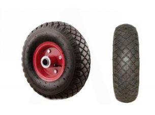 Колесо   3,00 -4   TT   (камерное, под ось d-16мм, 4 болта) (красное)   MRHD