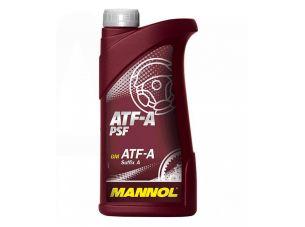 Масло трансмиссионное, 0,5л   (минеральное, ATF-A PSF)   MANNOL