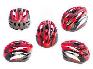 Шлем кросс-кантри   (бело-красный)   DS