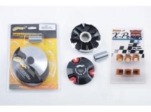 Вариатор передний (тюнинг)   Yamaha JOG 90, 2T Stels 50   (+палец, ролики 8,5г)   KOK RIDERS