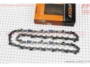 """Цепь 3/8""""-1,3mm-52зв. квад. зуб (на Partner-14""""), упаковка REZER, отличное качество"""