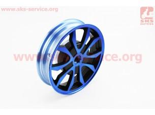D02 Диск литой задний (бараб. торм., Wind) 2,15x10, синий