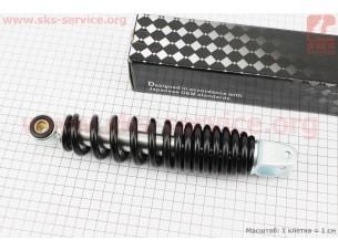 Амортизатор задний GY6/Yamaha - 240мм*d50мм (втулка 10мм / вилка 8мм), черный