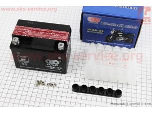 Аккумулятор 4Аh UTX4L-BS кислотный (L113*W70*H85mm), 2020
