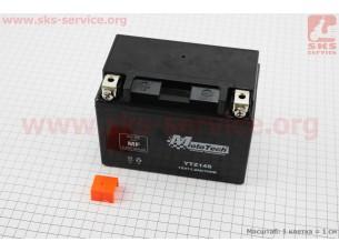 Аккумулятор 11,2Аh YTZ14S (гелевый) 150/85/112мм, 2018