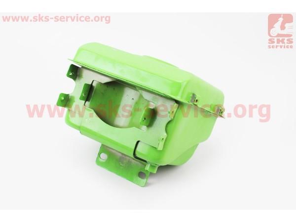 Бак топливный R175A/R180NM, 225x175x165мм, потайная горловина, отверстие под шланг топливный