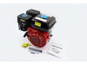 Двигатель мотоблочный в сборе под шпонку Ø19мм, фильтр-поролон, 7,0л.с. 170F