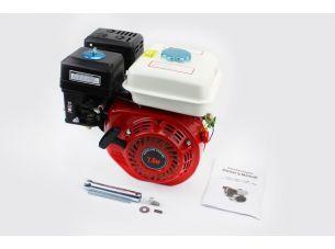 Двигатель мотоблочный в сборе под шпонку Ø20мм, фильтр-поролон, 7,0л.с. 170F