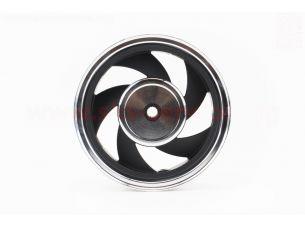 D03 Диск литой задний на 5 спиц  (бараб. торм.)  MT2,50x10, черный