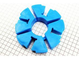 Демпферная резинка заднего колеса (к-кт 4шт) СИНИЕ