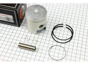 Поршень, кольца, палец к-кт Suzuki AD100/110 52,5мм +0,50 (палец 12мм)