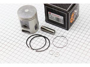 Поршень, кольца, палец к-кт Yamaha AXIS-90 50мм +0,50 (палец 12мм)