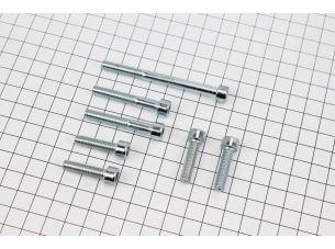 Болт крепления крышки вариатора Suzuki LETS 4T- к-кт 7шт (под шестигранник)