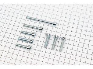 Болт крепления крышки вариатора Yamaha  GEAR 4T - к-кт 8шт (под шестигранник)