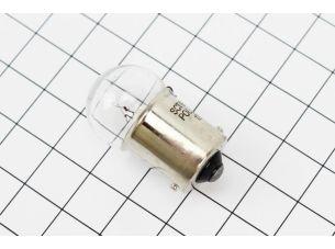 Лампа поворота (белая с цоколем) 12V/5W G18 BA15s