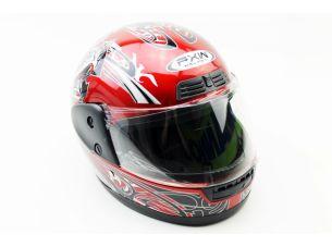 Шлем закрытый HF-109 M- КРАСНЫЙ Q09