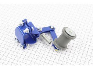 Натяжитель цепи приводной с роликом (универсальный) тип 2, синий