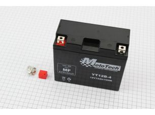 Аккумулятор 10(12)Аh YT12B-4 гелевый (L150*W70*H130mm), 2019