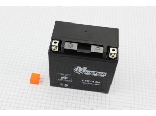 Аккумулятор 12Аh YTX14-BS гелевый (L145*W80*H145mm), 2020