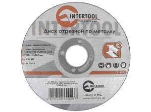 Диск отрезной по металлу 115x1,2x22,2 мм INTERTOOL