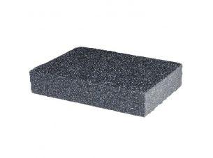 Губка для шлифования 100x70x25 мм, оксид алюминия К80 INTERTOOL