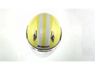 Шлем открытый   (mod:559) (size:L, желтый)   LS2