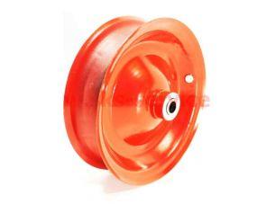 Диск колеса тачки   4,00/3,50 * 8   (R8, металл, под подшипник 12мм)   ELIT