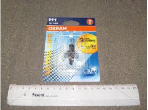 Лампа фарная H1 12V 55W P14,5s ULTRA LIFE 1шт. blister (пр-во OSRAM) 64150ULT-01B