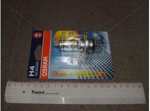 Лампа фарная H4 12V 60/55W P43t ULTRA LIFE 1шт. blister (пр-во OSRAM) 64193ULT-01B