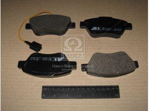 Колодка тормозная ALFA ROMEO/FIAT/LANCIA передн. (пр-во ABS) 37280