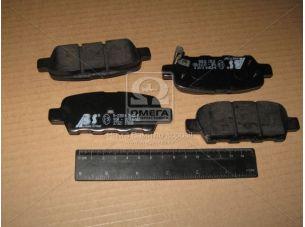 Колодка тормозная NISSAN/RENAULT QASHQAI/X-TRAIL/KOLEOS задн. (пр-во ABS) 37321