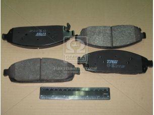 Колодка тормозная JEEP передн. (пр-во TRW) GDB4136