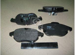 Колодка тормозная OPEL VECTRA C, передн. (пр-во TRW) GDB1613