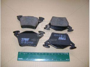 Колодка тормозная MB VITO (638) задн. (пр-во TRW) GDB1408