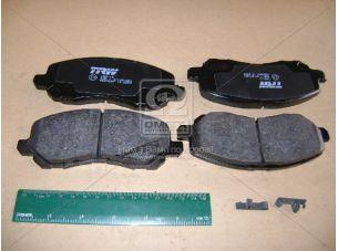 Колодка тормозная MITSUBISHI GALANT VI (EA_), LANCER передн. (пр-во TRW) GDB3287