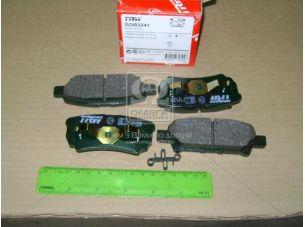 Колодка тормозная MITSUBISHI LANCER задн. (пр-во TRW) GDB3341