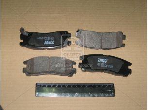 Колодка тормозная MITSUBISHI GALANT задн. (пр-во TRW) GDB1023