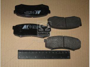 Колодка тормозная TOYOTA LANDCRUISER задн. (пр-во ABS) 36875