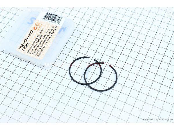 Кольца поршневые MS-180 38мм ОРИГИНАЛ